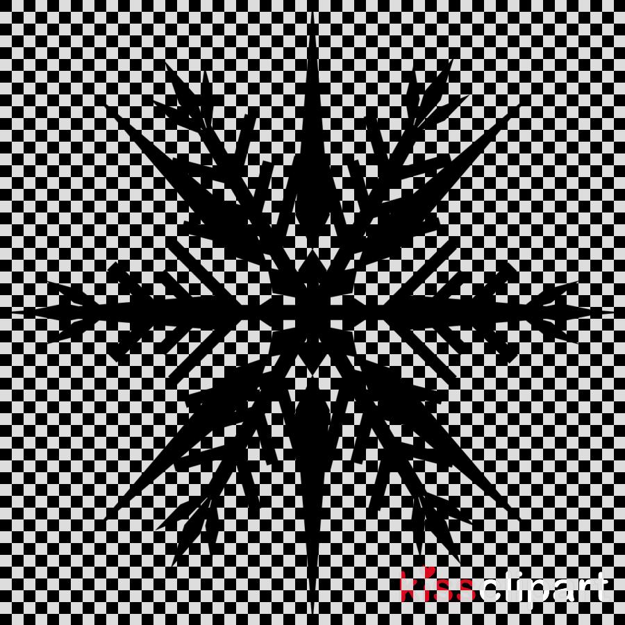 Snowflake Silhouette