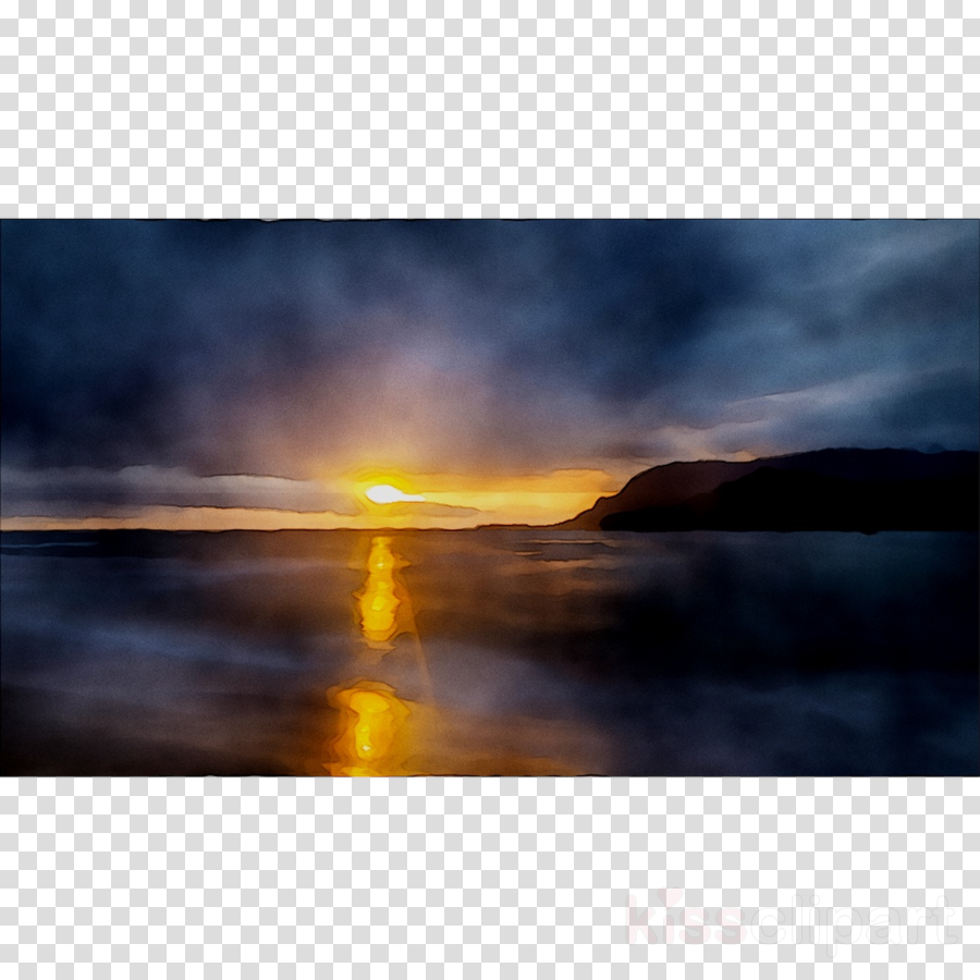Sunrise Clouds Clip Art