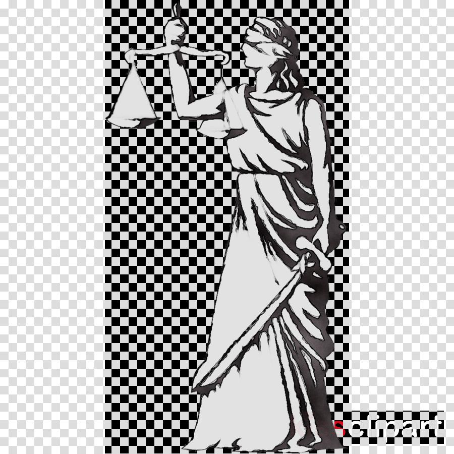 Lady Justice Clip Art