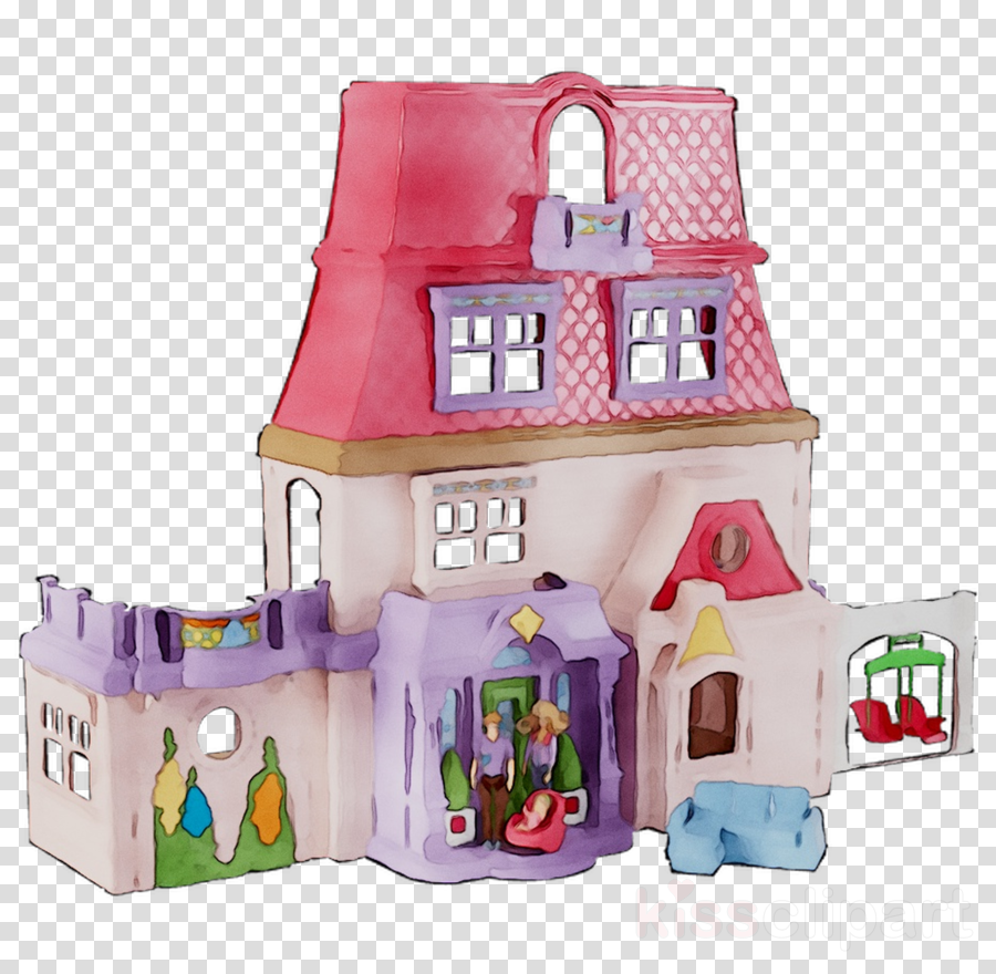 Dollhouse Clip Art - Royalty Free - GoGraph