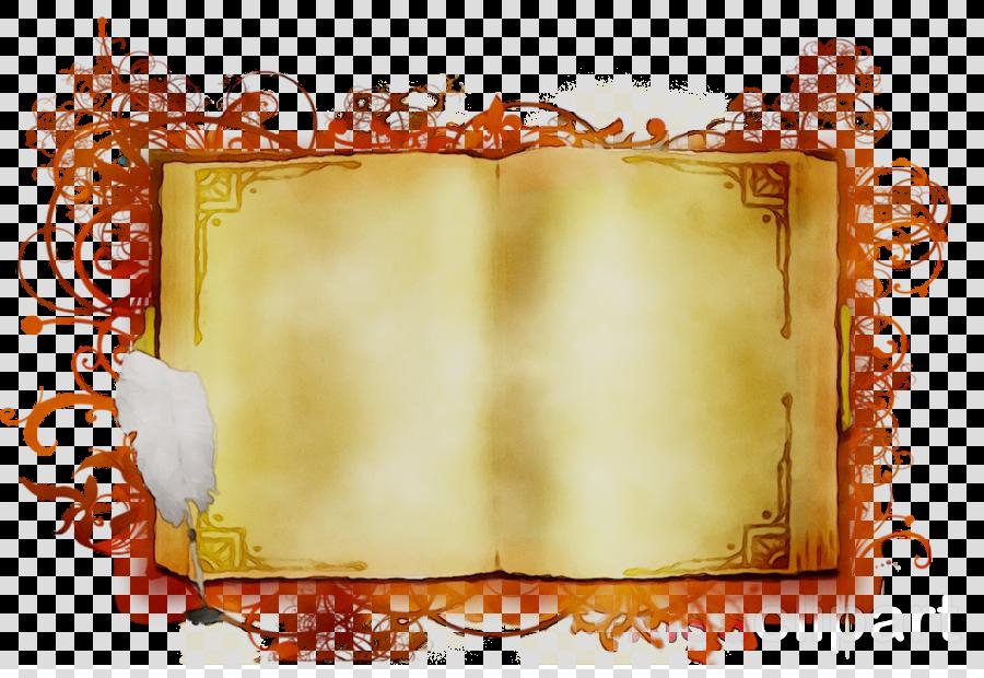 orange clipart Desktop Wallpaper Picture Frames Rectangle