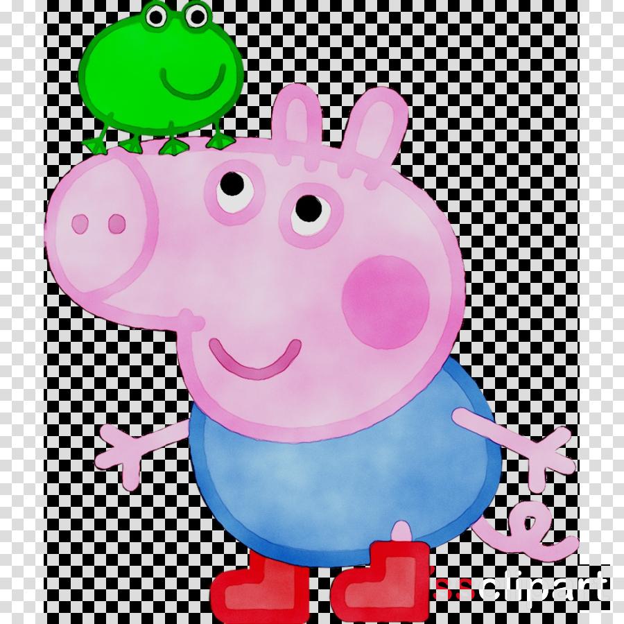 Peppa Pig clipart George Pig Grandpa Pig