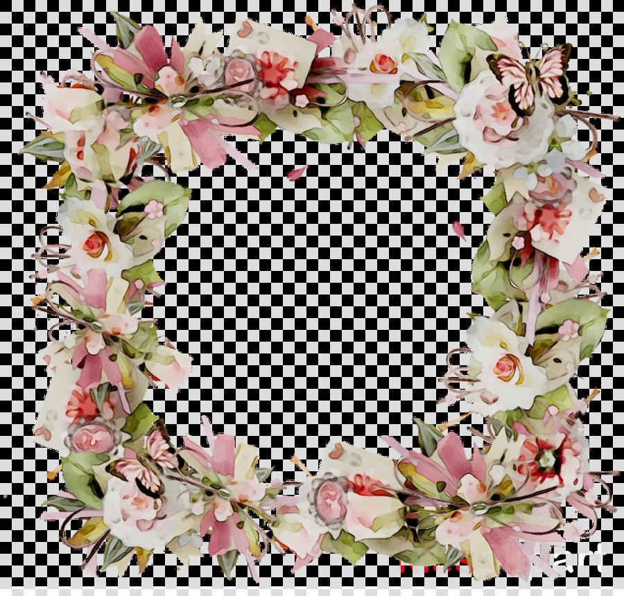 wreath clipart Floral design Wreath Flower