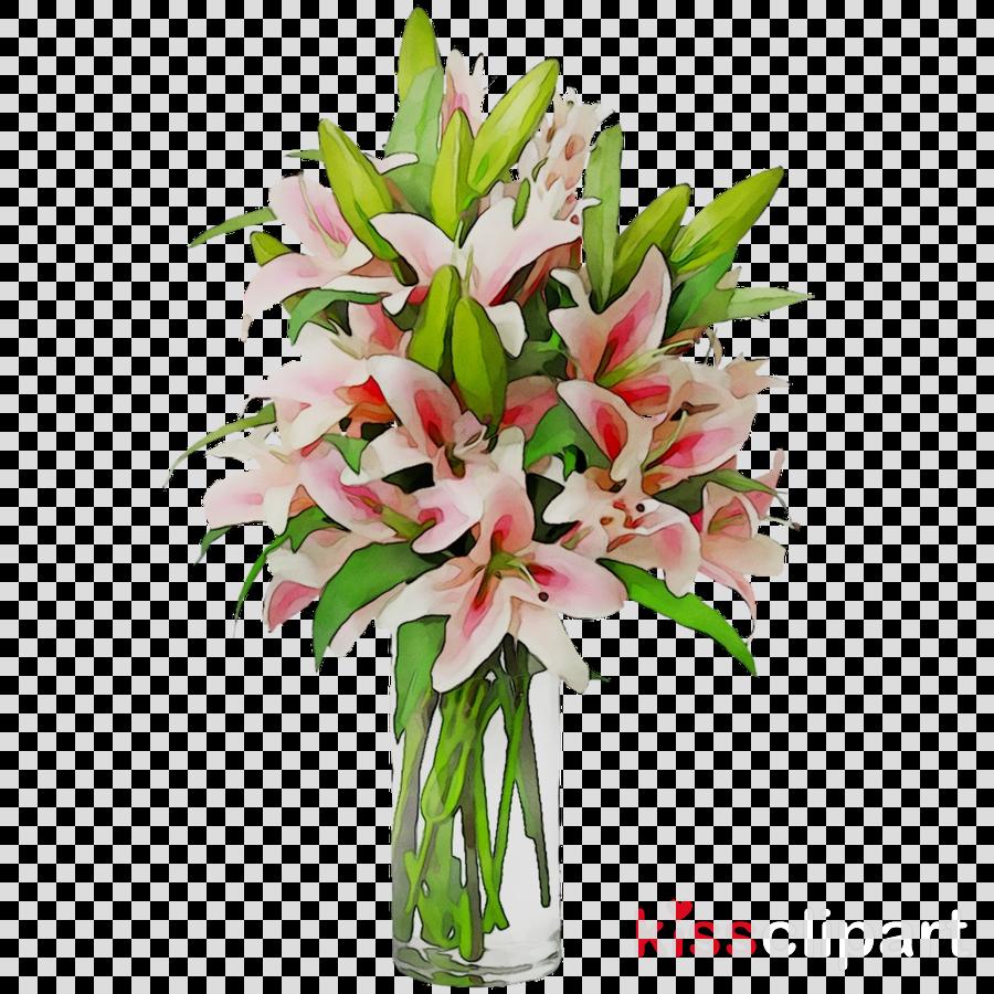 cut flowers clipart Floral design Vase Cut flowers