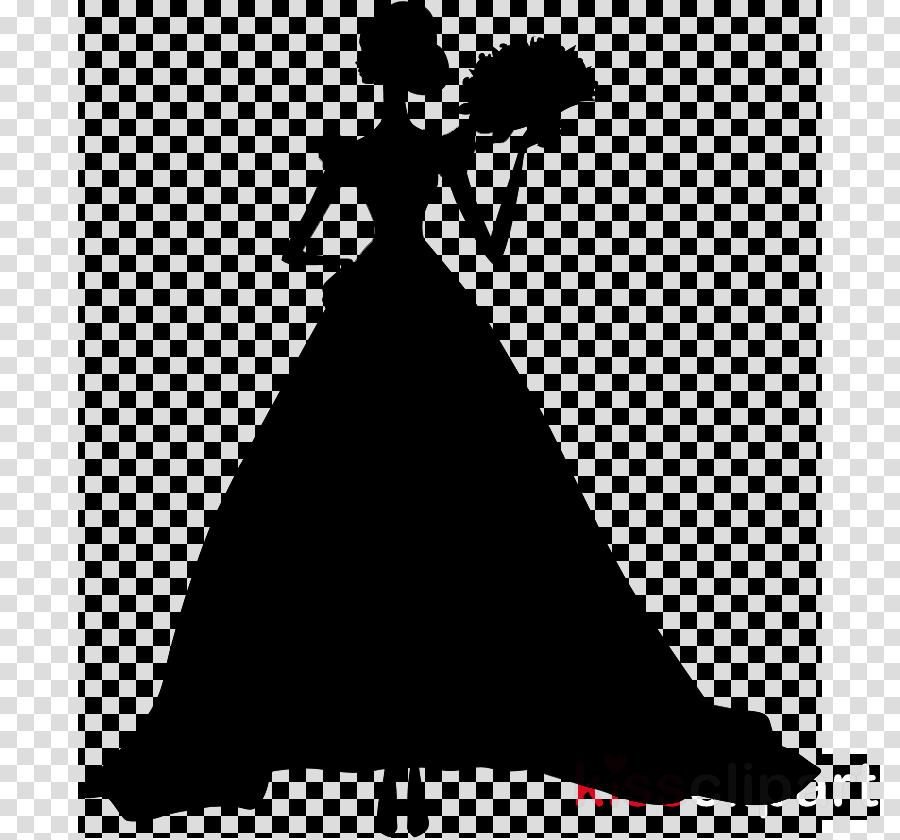 Woman Clipart Black White M Gown Clip Art Clipart Silhouette Dress Clothing Transparent Clip Art