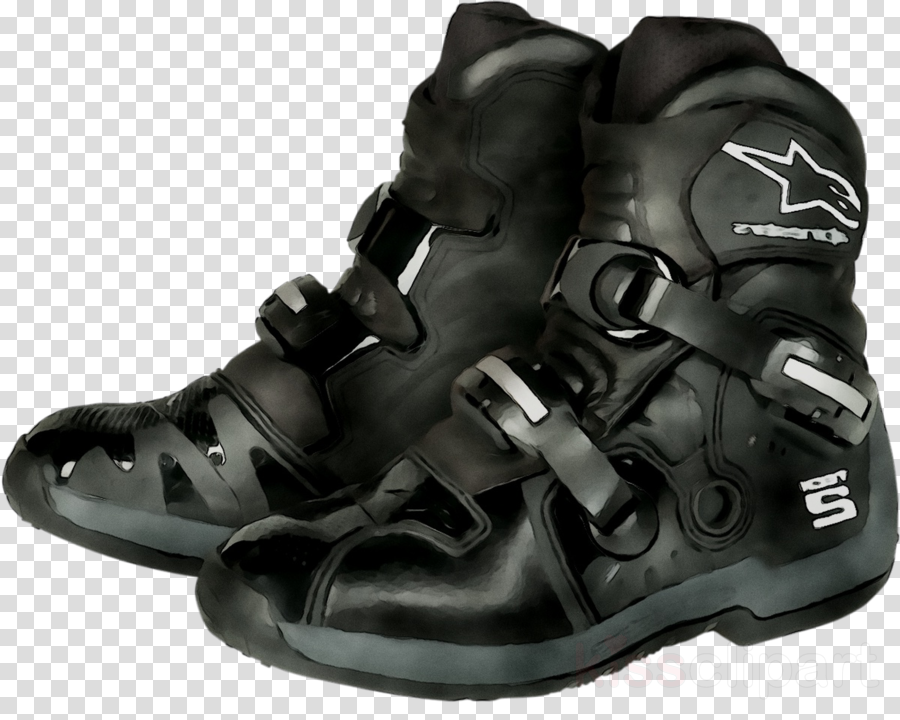 walking shoe clipart Motorcycle boot Shoe