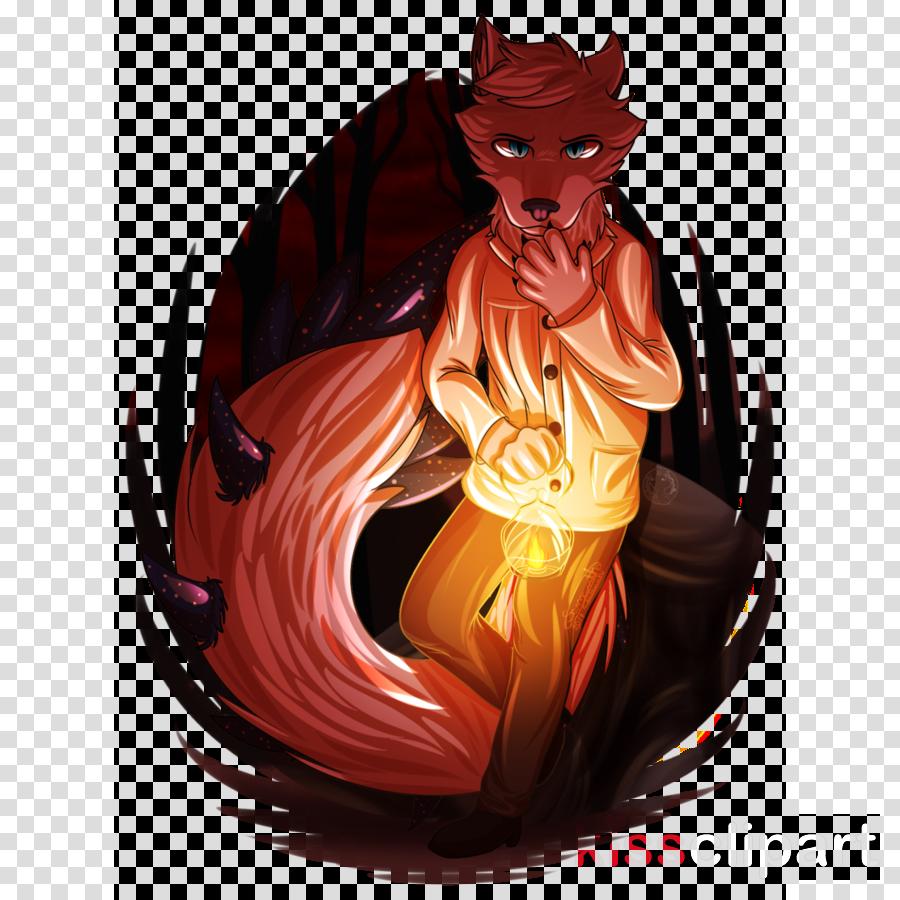 Demon Illustration Cartoon Carnivores Orange S.A.