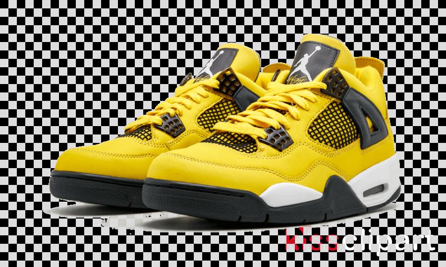 d6f168d6eac5 Air Jordan 4 Retro Ls  Lightning  Mens Sneakers Nike Air Jordan IV Shoe Mens