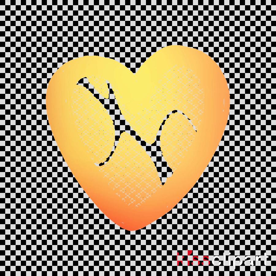 orange clipart Desktop Wallpaper Heart