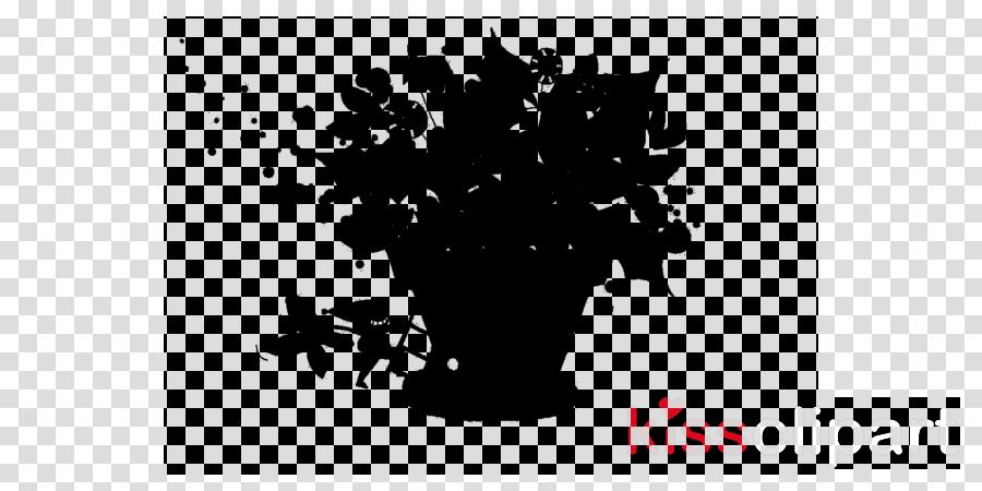 Black & White - M Font Desktop Wallpaper Computer Leaf