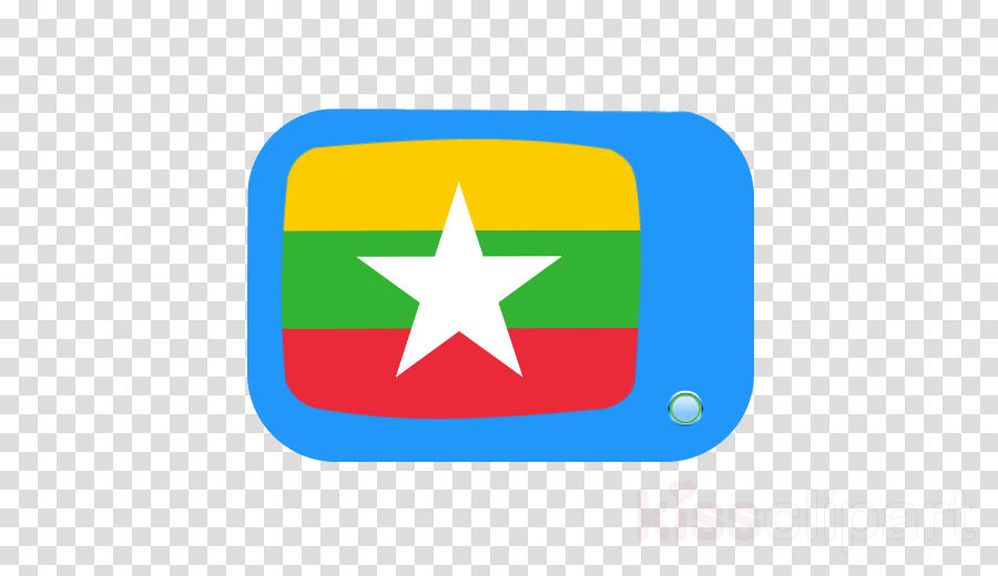Flag of Myanmar Yangon National flag Illustration