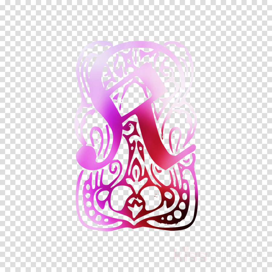 Illustration Clip art Pink M