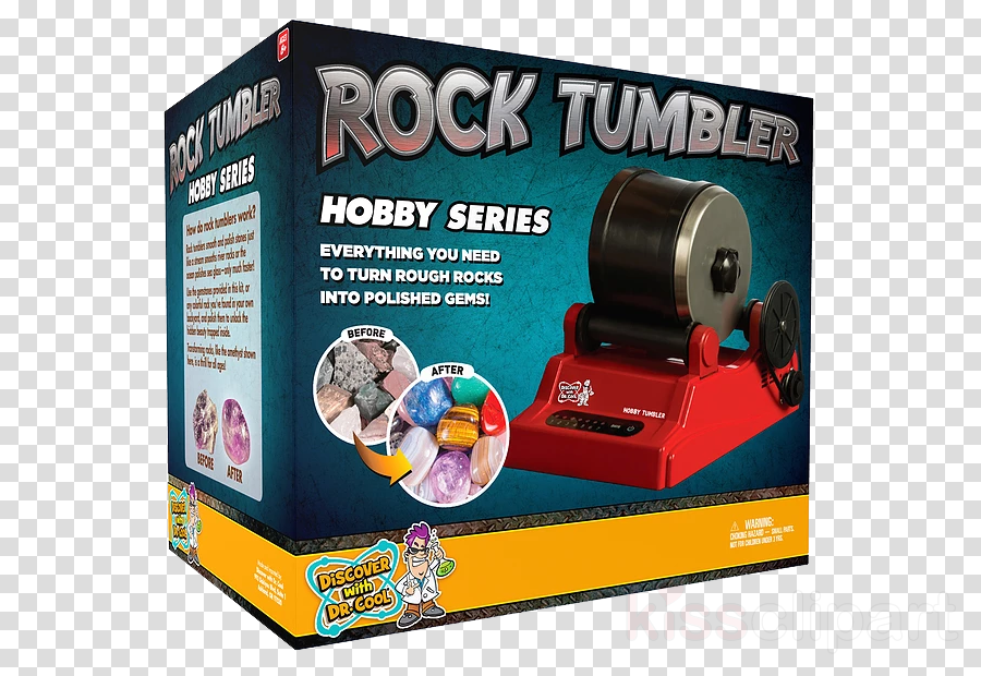 National Geographic Hobby Rock Tumbler Kit Discover With Dr. Cool Rock Tumbler Set Gemstone