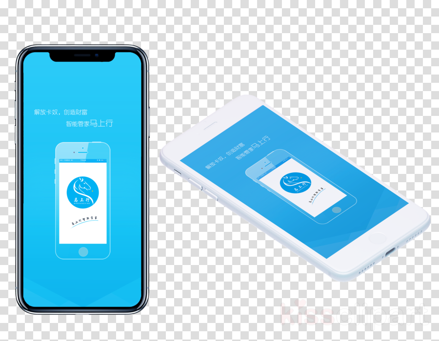 Smartphone iPhone X Samsung Galaxy S9+ iPhone 6s Plus