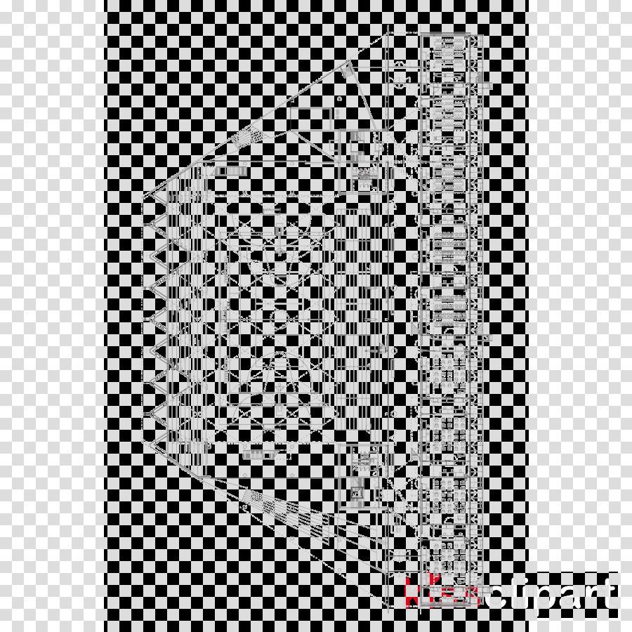Architecture Facade Floor plan Product Black & White - M