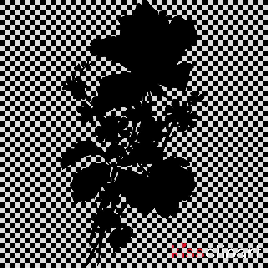 Black White M M 0d Leaf transparent png image & clipart free