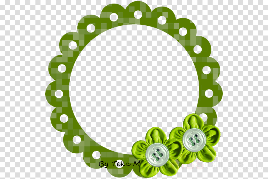 Green Background Frame