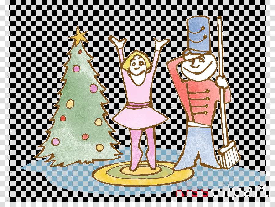 Nutcracker Christmas Tree Clipart.Christmas Tree Cartoon Clipart Holidays Transparent Clip Art