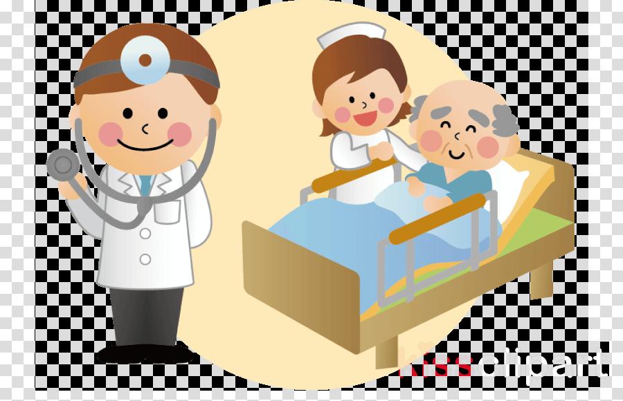 Hospital Cartoon Clipart Medical Care Transparent Clip Art