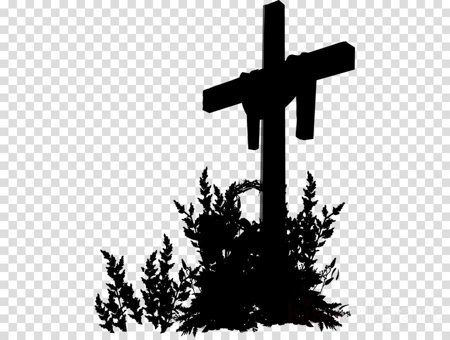 Cross Tree Religion Silhouette