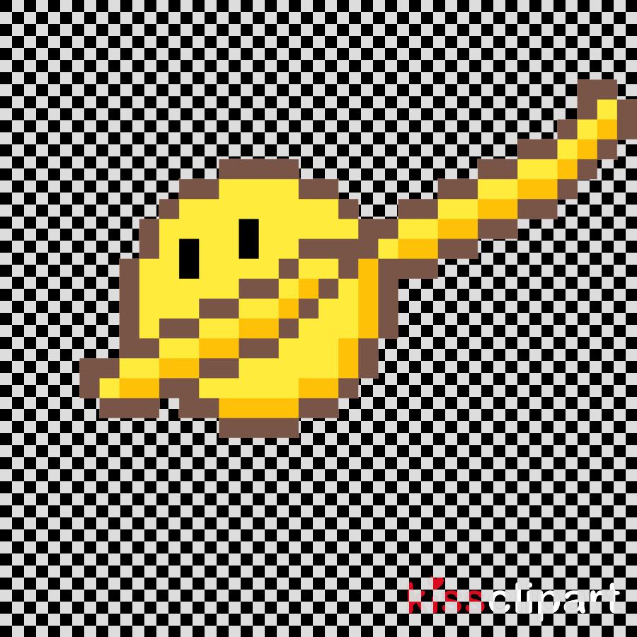 Pixel Art Smiley Clipart Icon Transparent Clip Art