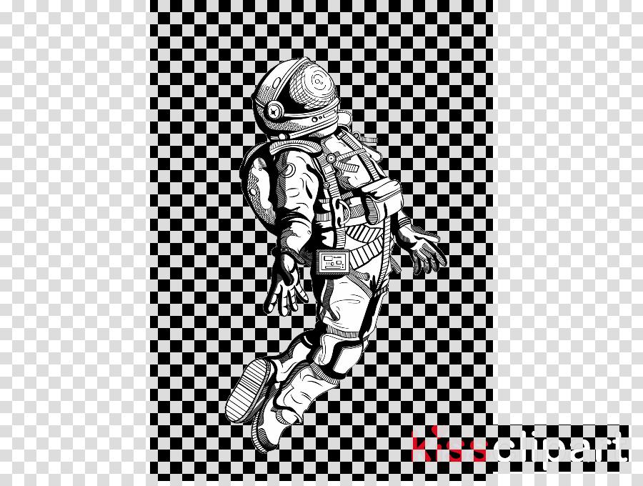 Astronaut Cartoon Clipart Universe Transparent Clip Art
