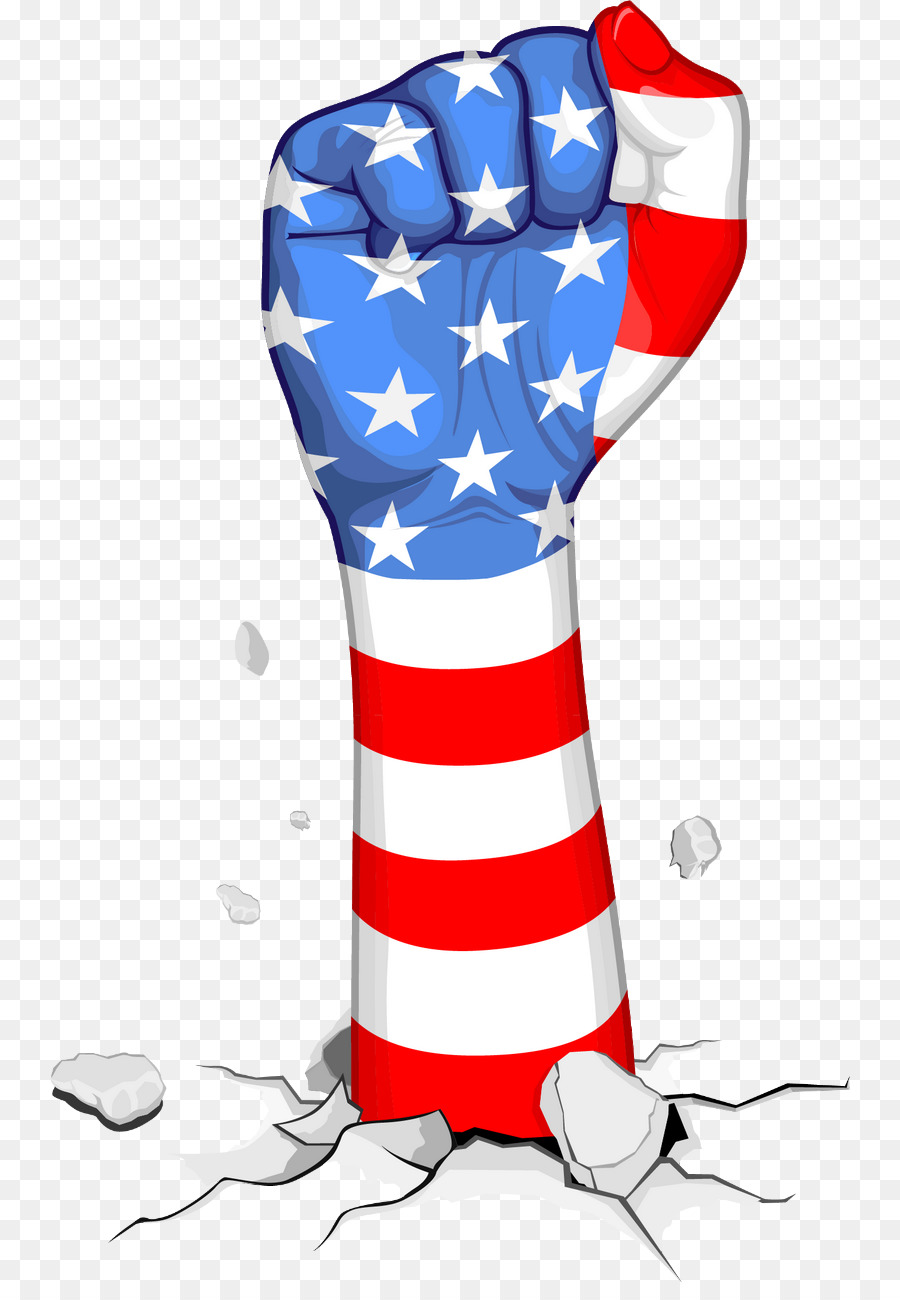 american flag fist clipart United States of America Flag of the United States Clip art