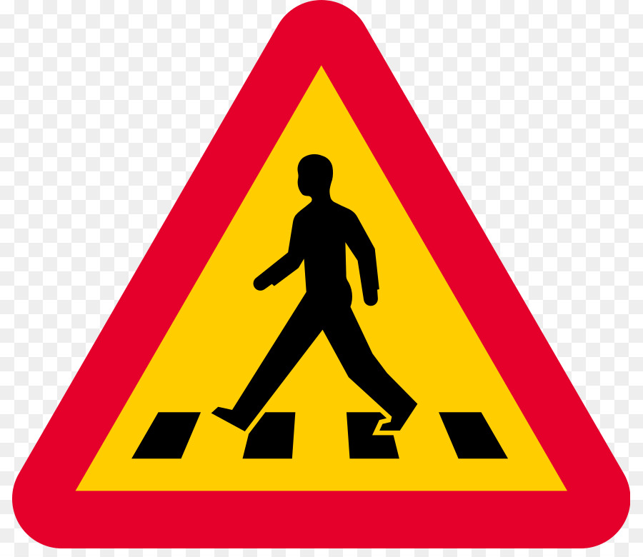 pedestrian crossing clipart Pedestrian crossing Zebra crossing Traffic sign