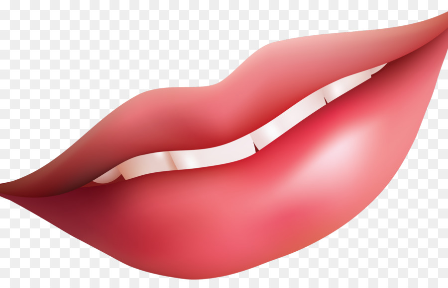 Lips Cartoon Clipart Lips Smile Pink Transparent Clip Art