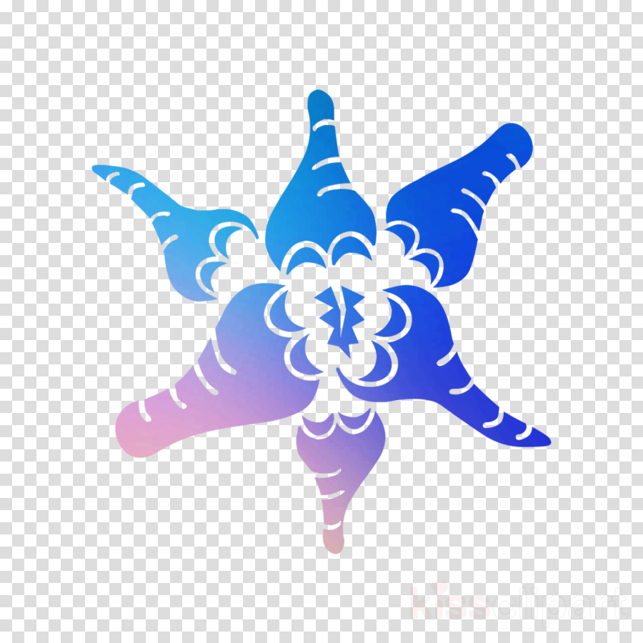 M 0d Starfish Butterfly transparent png image & clipart free