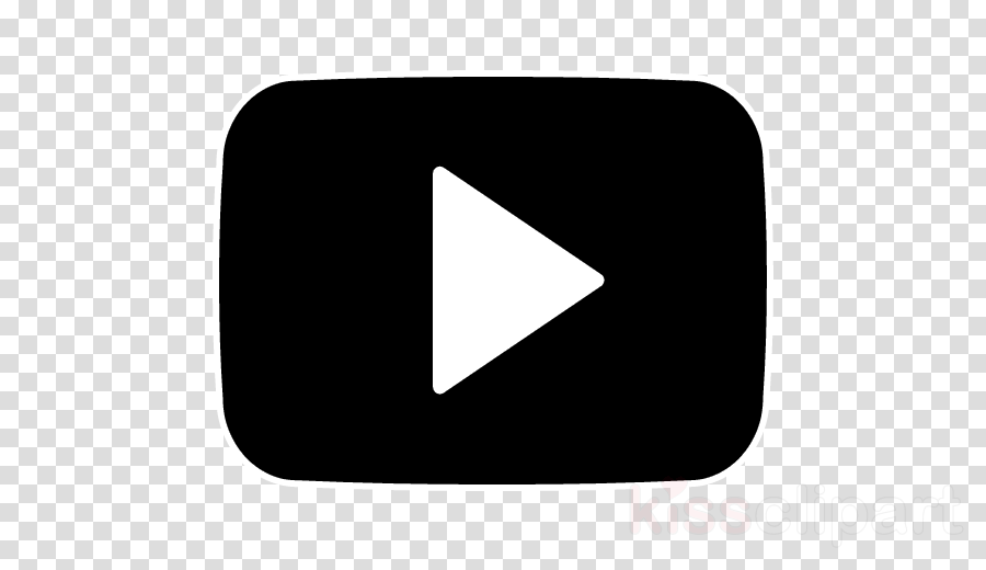 Youtube Logo Black And White clipart - Logos, transparent