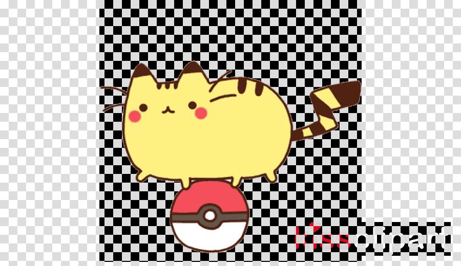 Pikachu GIF Pusheen Tenor Gfycat