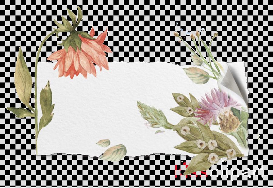Floral design Joyeux anniversaire ! Scrapbooking Picture Frames