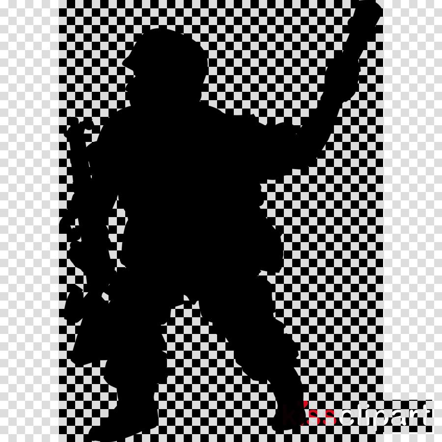 Clip art Human behavior Black & White - M Silhouette Personal protective equipment