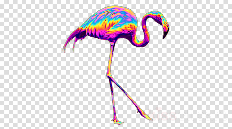 Flamingo Canvas Drawing Painting Stock photography