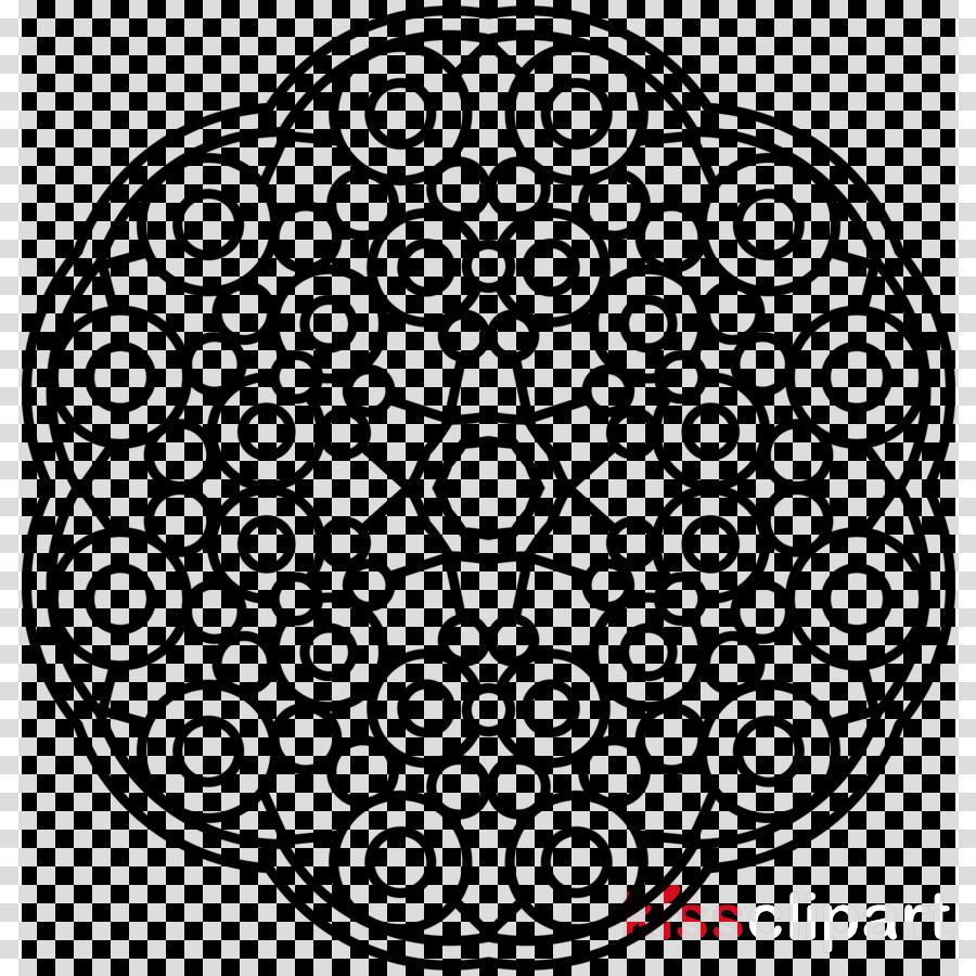 Black & White - M Pattern Line art Font Product