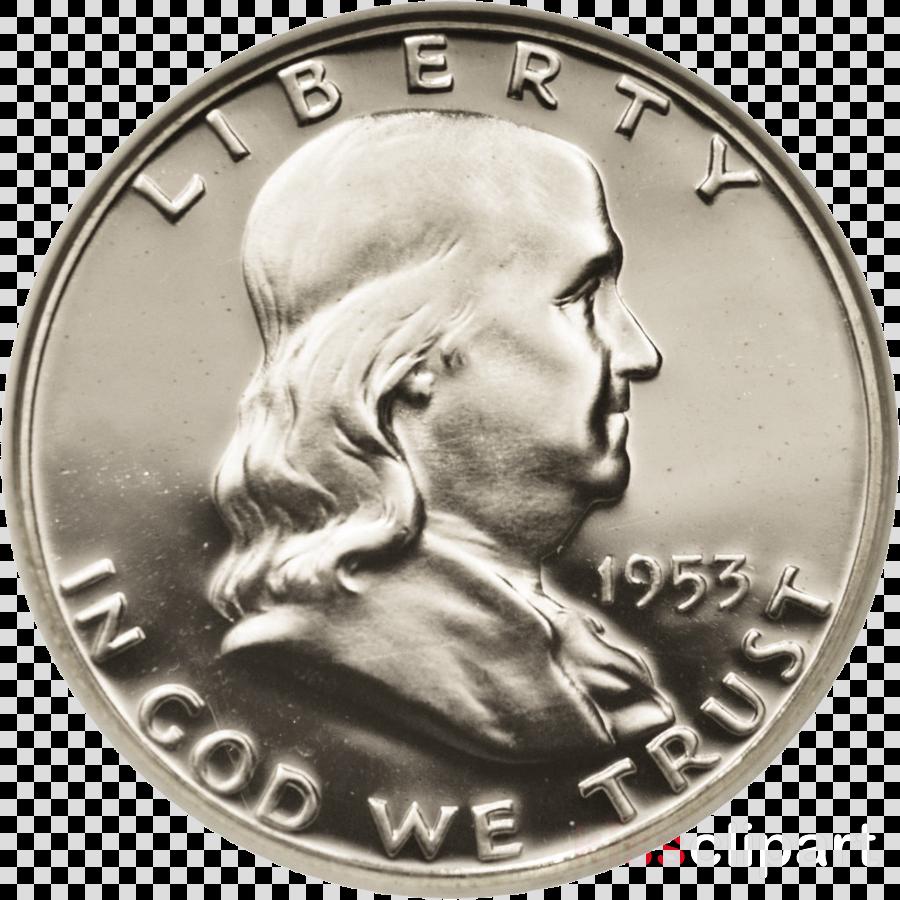 Dime Franklin half dollar Silver Coin