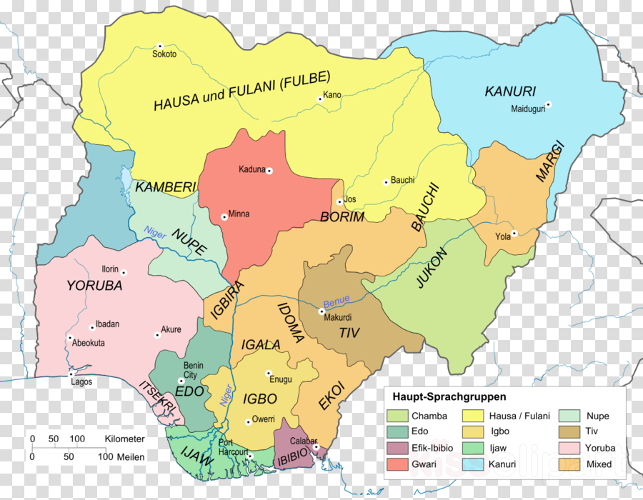 Map, Federal Capital Territory, Niger River, transparent png image ...