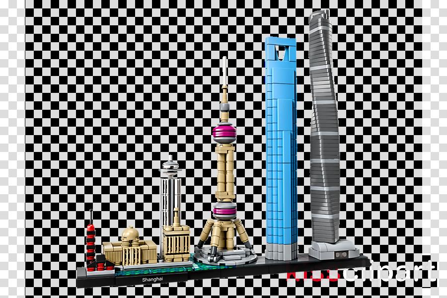 LEGO Architecture 21039 Shanghai LEGO 21028 Architecture New York City