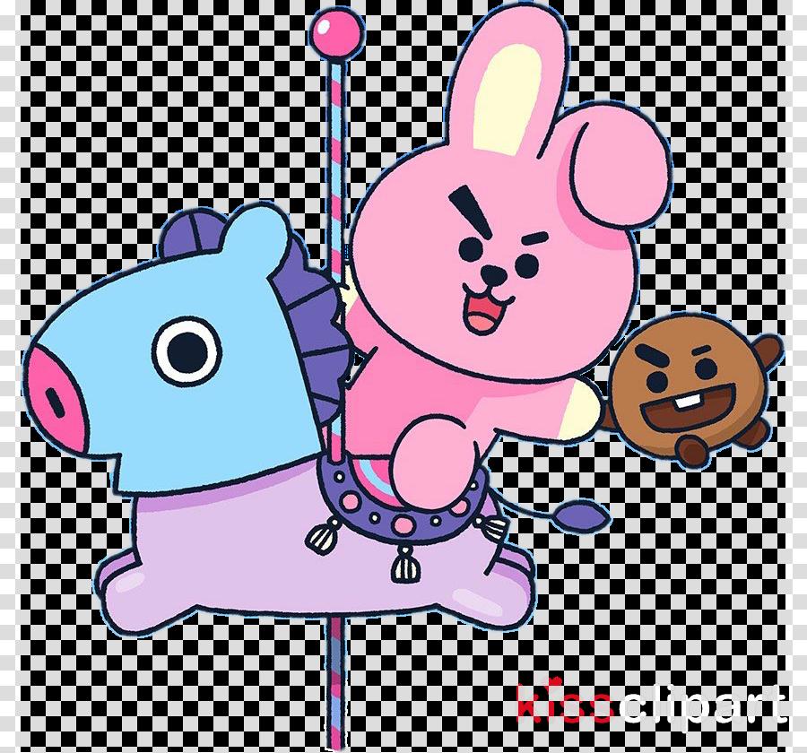 Korean Bts Bts Cartoon Wallpaper