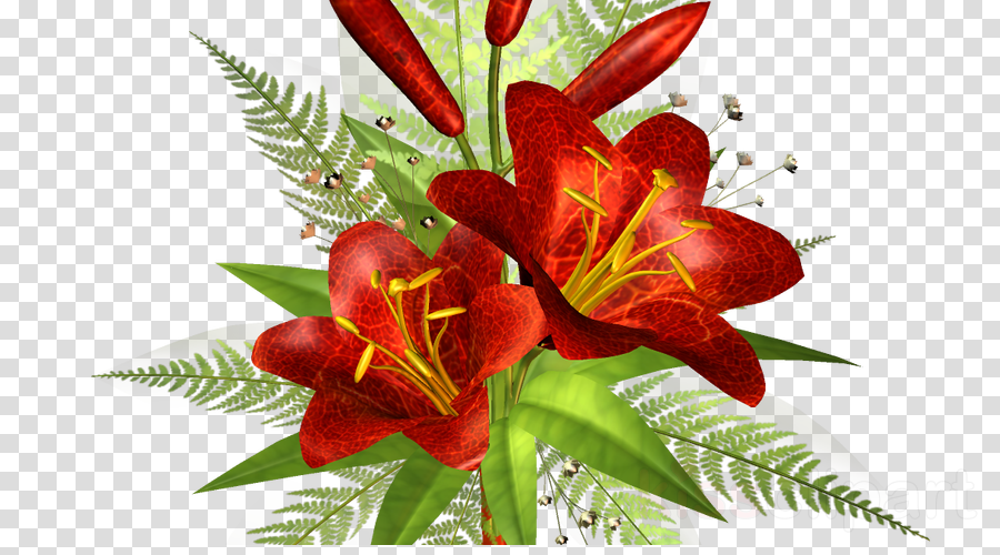 Father's Day Clip art Flower Greeting & Note Cards Image