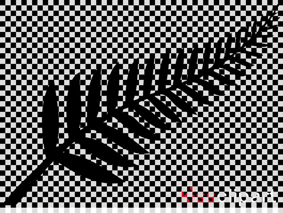 New Zealand Silver fern flag Decal
