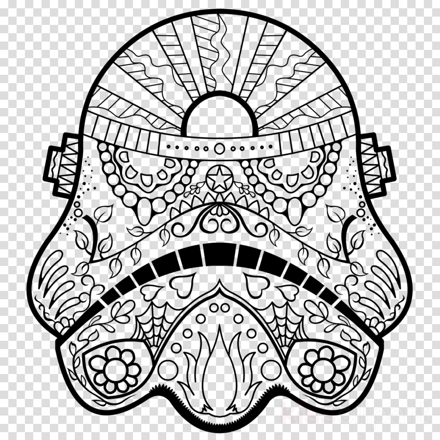 Star wars coloring book for adults — 7