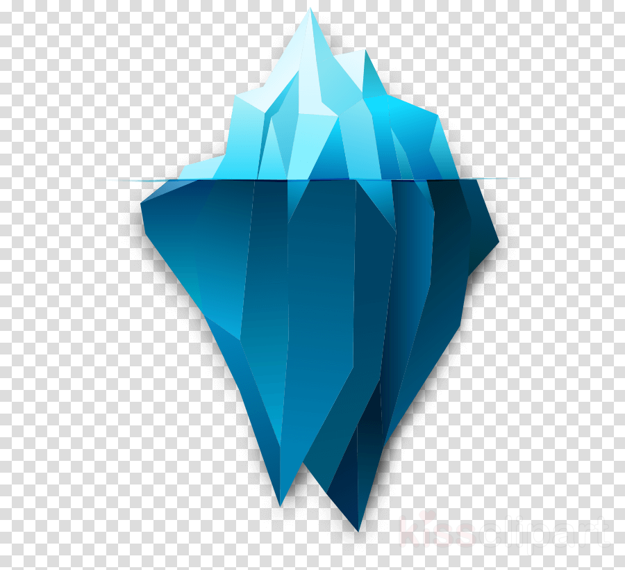Cartoon Iceberg In 2 Versions. Royalty Free Cliparts, Vectors, And Stock  Illustration. Image 48878171.