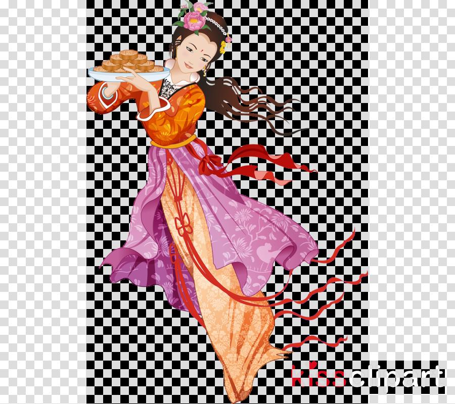 Chang'e Mid-Autumn Festival Moon rabbit Mooncake Portable Network Graphics