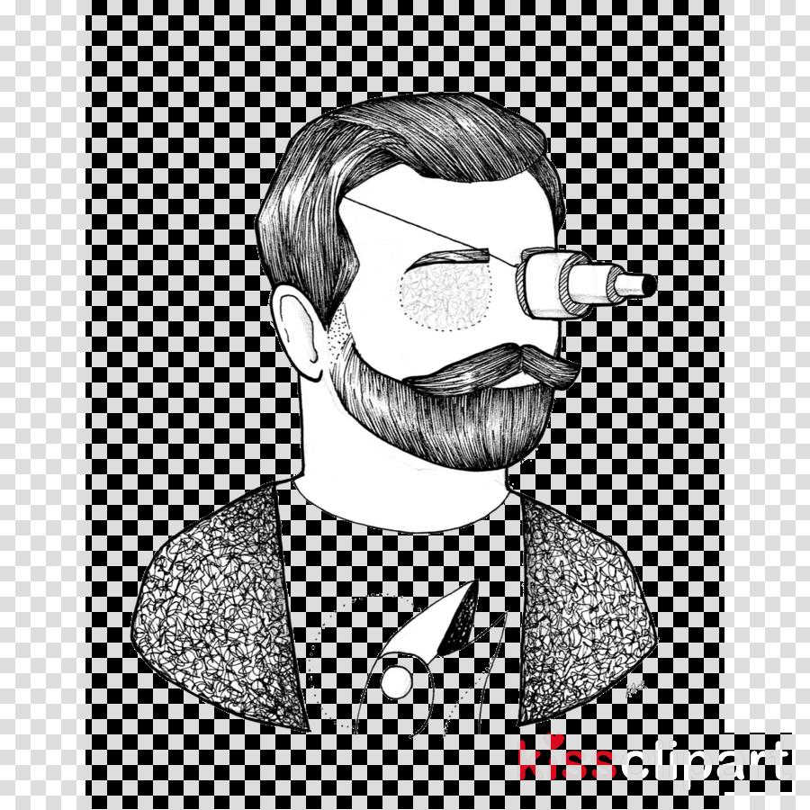 City Moustache Design Visual arts Sketch