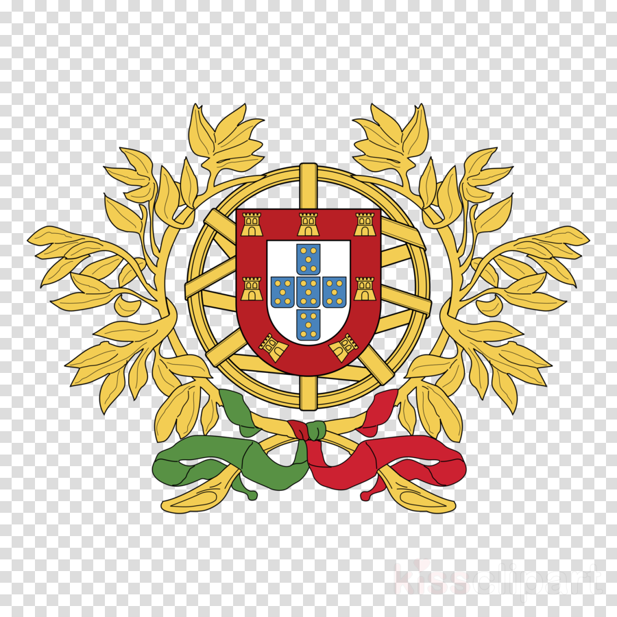 Coat of arms of Portugal T-shirt Stock photography