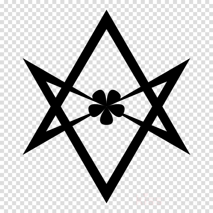 Abbey of Thelema Unicursal hexagram The Book of the Law