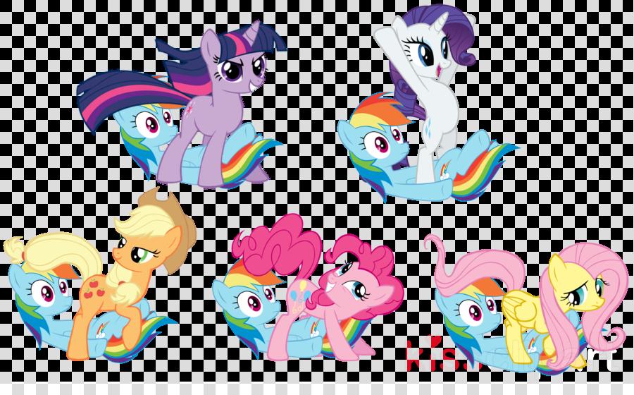 Pony Applejack Twilight Sparkle Pinkie Pie Fluttershy