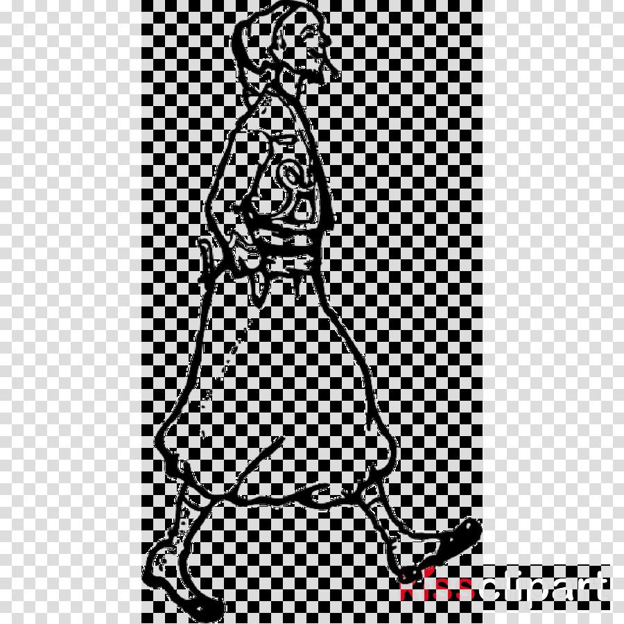 Vector graphics Clip art Silhouette Walking Illustration